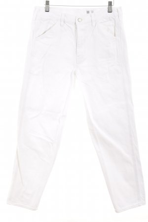 """Uniqlo Straight-Leg Jeans """"U by Lemaire Hose"""" weiß"""