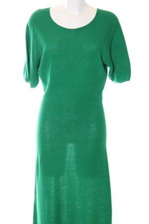 Uniqlo Gebreide jurk groen elegant