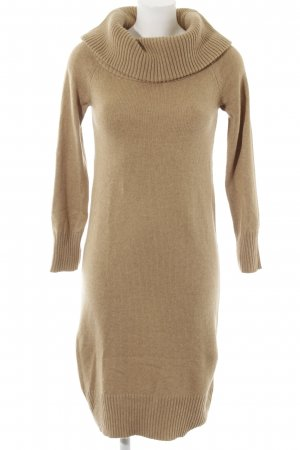 Uniqlo Strickkleid beige Casual-Look