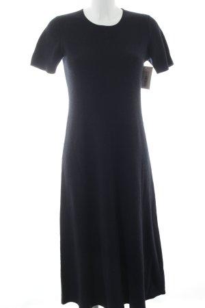 Uniqlo Abito di maglia blu scuro stile professionale
