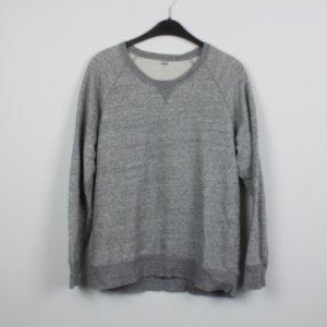 Uniqlo Sweatshirt Gr. M grau meliert (18/11/022)
