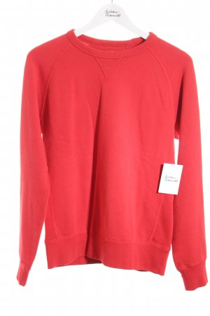 Uniqlo Sweatshirt rot Casual-Look