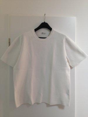 Uniqlo Sweat Shirt white cotton