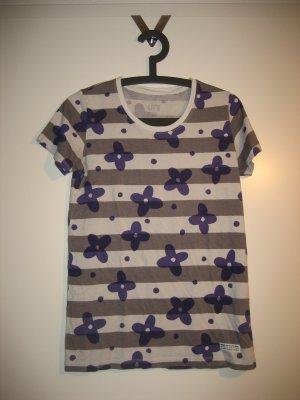 Uniqlo T-Shirt Blumenprint Gr. M