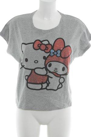Uniqlo T-Shirt platzierter Druck Casual-Look
