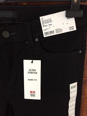 Uniqlo Jeans a 3/4 nero