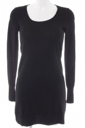 Uniqlo Woolen Dress black casual look