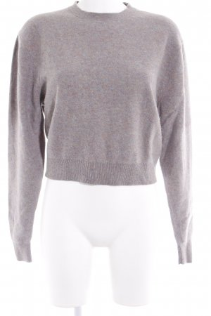 Uniqlo Wollpullover meliert Casual-Look