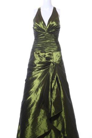 Unique Abendkleid grün Elegant