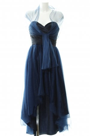 Unique Abendkleid dunkelblau Party-Look