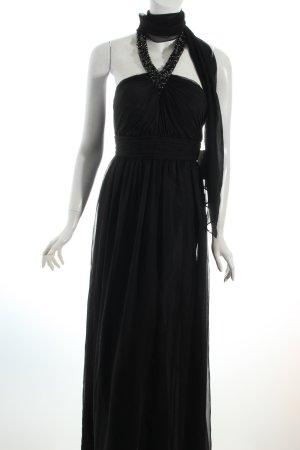 Unique Abendkleid schwarz Eleganz-Look