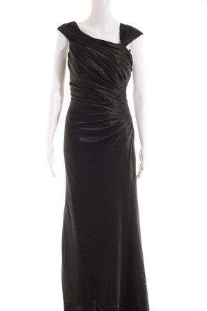 Unique Abendkleid schwarz Party-Look