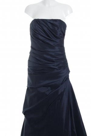 Unique Ballkleid dunkelblau Elegant