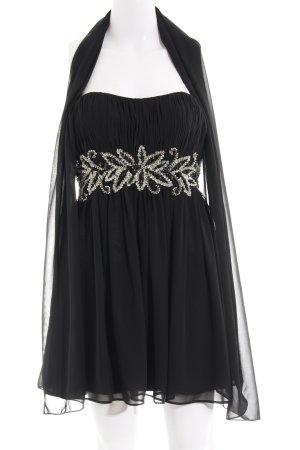Unique Bustierkleid schwarz Elegant