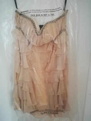 unique Kleid creme