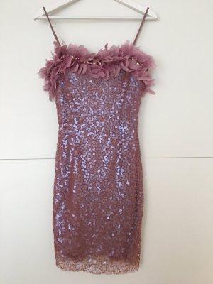 Unique Kleid in Pink