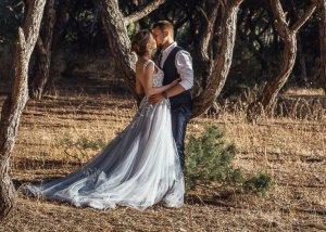 Unique wedding dress made in Ukraine