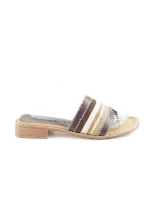Unisa Heel Pantolettes multicolored simple style
