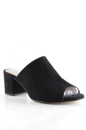 Unisa Absatz Pantoletten schwarz Elegant