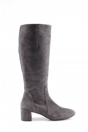 Unisa Heel Boots light grey casual look