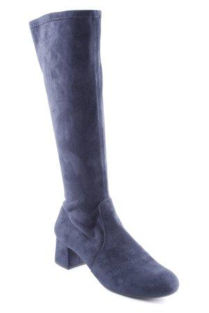 Unisa Absatz Stiefel dunkelblau Casual-Look