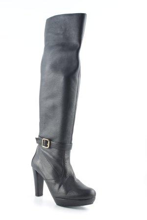 Unisa Absatz Stiefel schwarz Casual-Look