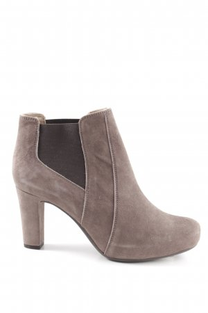 Unisa Ankle Boots braun Casual-Look