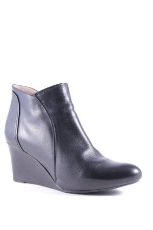 Unisa Ankle Boots schwarz Business-Look