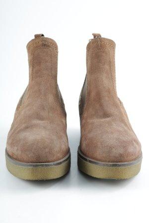 Unisa Chelsea Boots beige-hellbraun Casual-Look