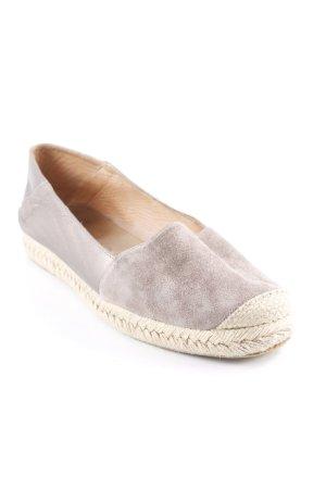 Unisa Espadrilles-Sandalen graubraun-beige Street-Fashion-Look