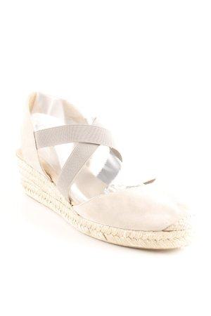 Unisa Alpargatas gris claro-beige look casual