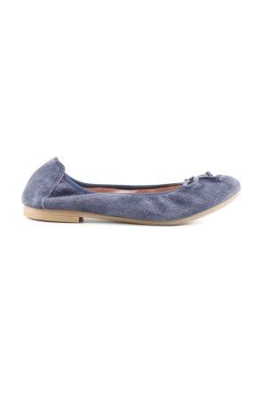 Unisa faltbare Ballerinas blau Casual-Look