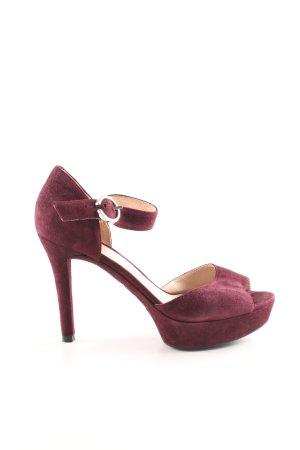 Unisa High Heel Sandaletten rot Elegant