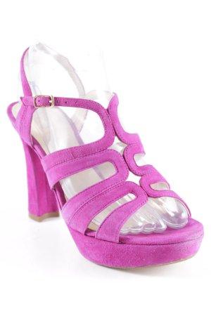 Unisa High Heel Sandaletten lila Elegant