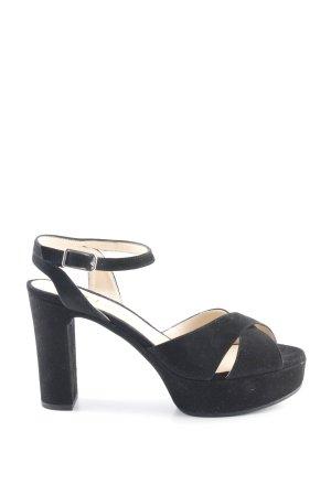 Unisa High Heel Sandaletten schwarz Elegant