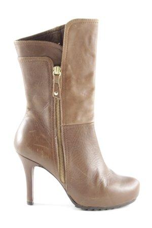 Unisa High Heel Stiefel braun Elegant