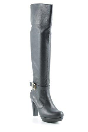 Unisa High Heel Stiefel schwarz Street-Fashion-Look