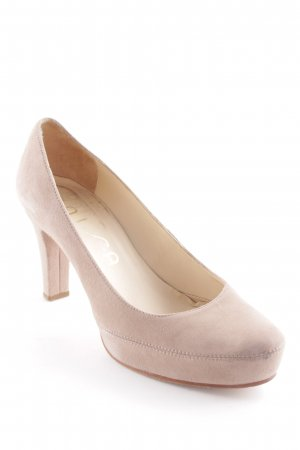 Unisa High Heels beige Business-Look