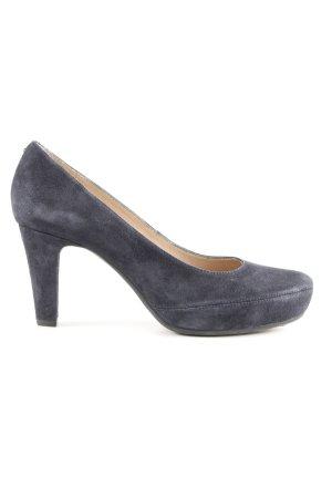 Unisa High Heels blau Casual-Look