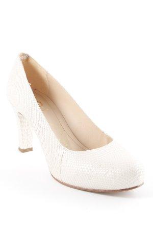 Unisa High Heels creme Business-Look