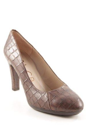 Unisa High Heels dunkelbraun-braun Elegant