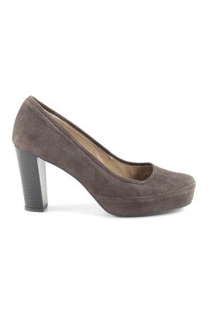 Unisa High Heels braun Elegant