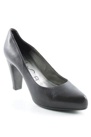Unisa High Heels dunkelbraun Elegant