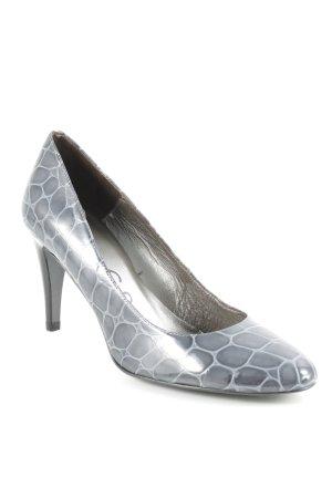 Unisa High Heels dunkelgrau-grau Elegant