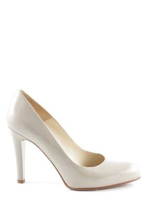Unisa High Heels wollweiß Business-Look