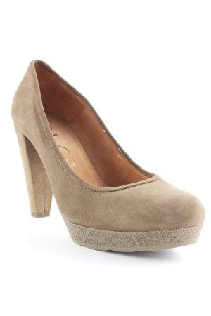 Unisa High Heels graubraun Elegant