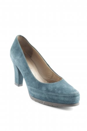 Unisa High Heels kadettblau Street-Fashion-Look