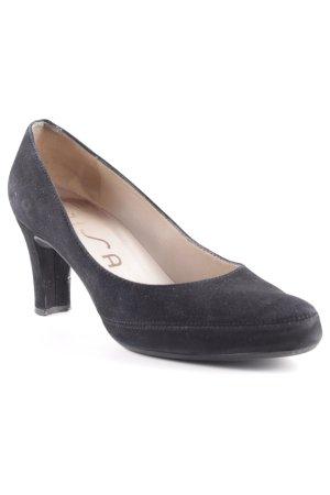 Unisa High Heels schwarz schlichter Stil