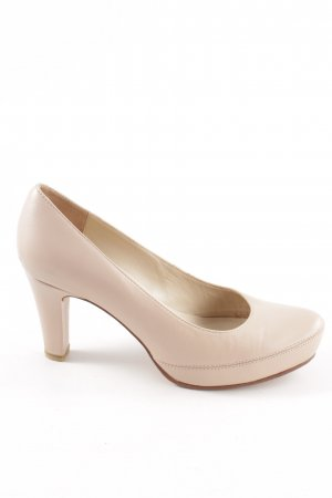 Unisa High-Front Pumps cream business style