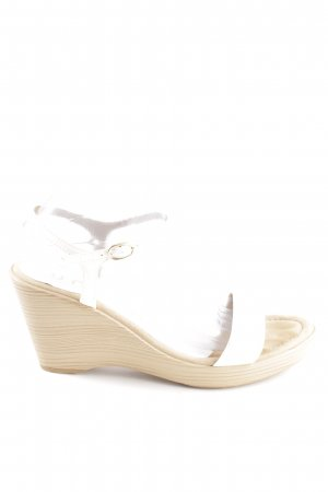 Unisa Wedge Pumps white-natural white casual look